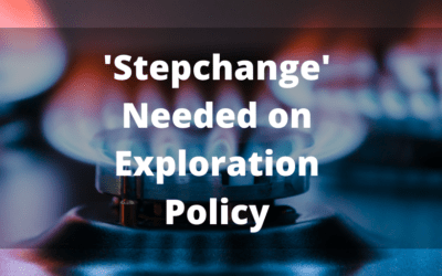 Exploration Policy Paper must signal significant 'Step-Change'